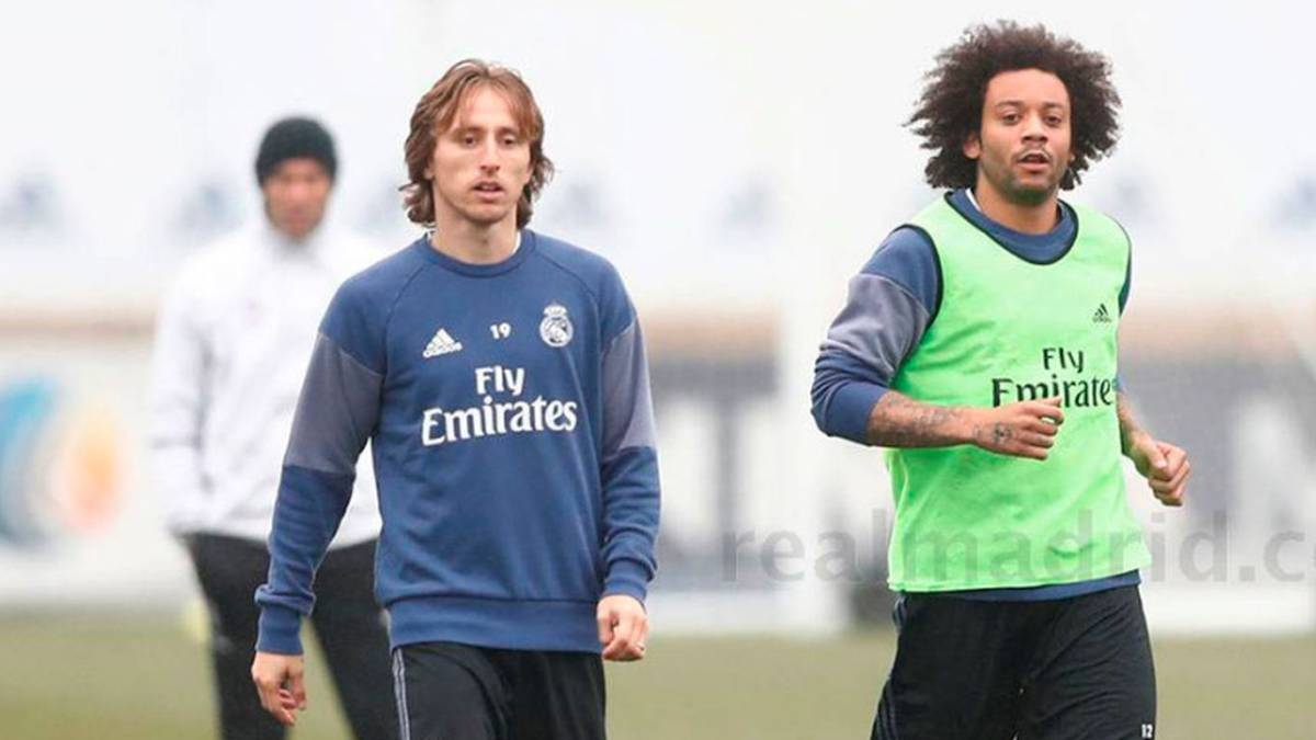 8561b0b77b4 Real Madrid  Injured Modric