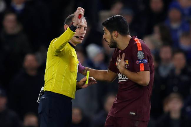 Suárez denied penalty