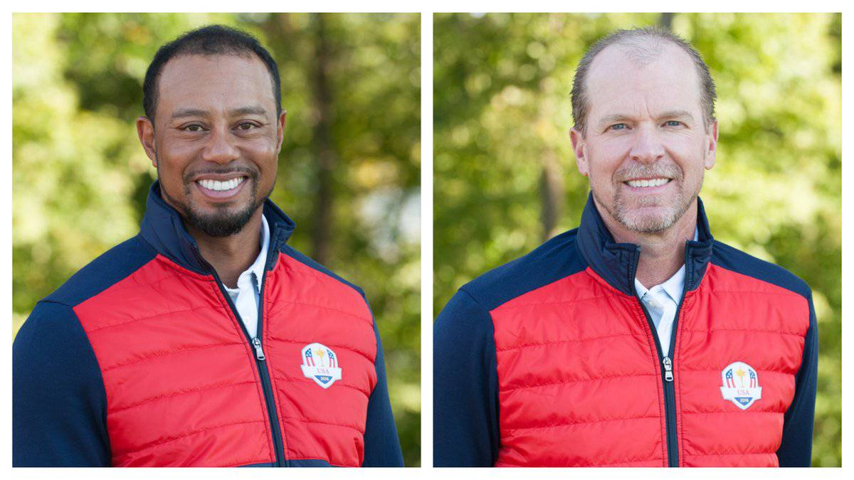 Woods and Stricker appointed USA Ryder Cup vice-captains