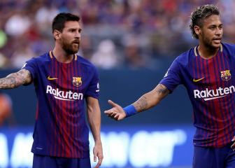 Escape Messi's shadow? Change sport! - Henry's advice to Neymar
