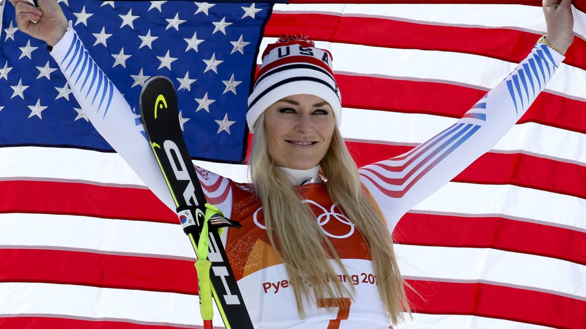 "Vonn won't be beaten by ""savage abuse"" over Trump stance"