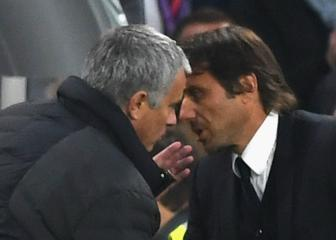 Manchester United v Chelsea: Mourinho and Conte's feud in their own words