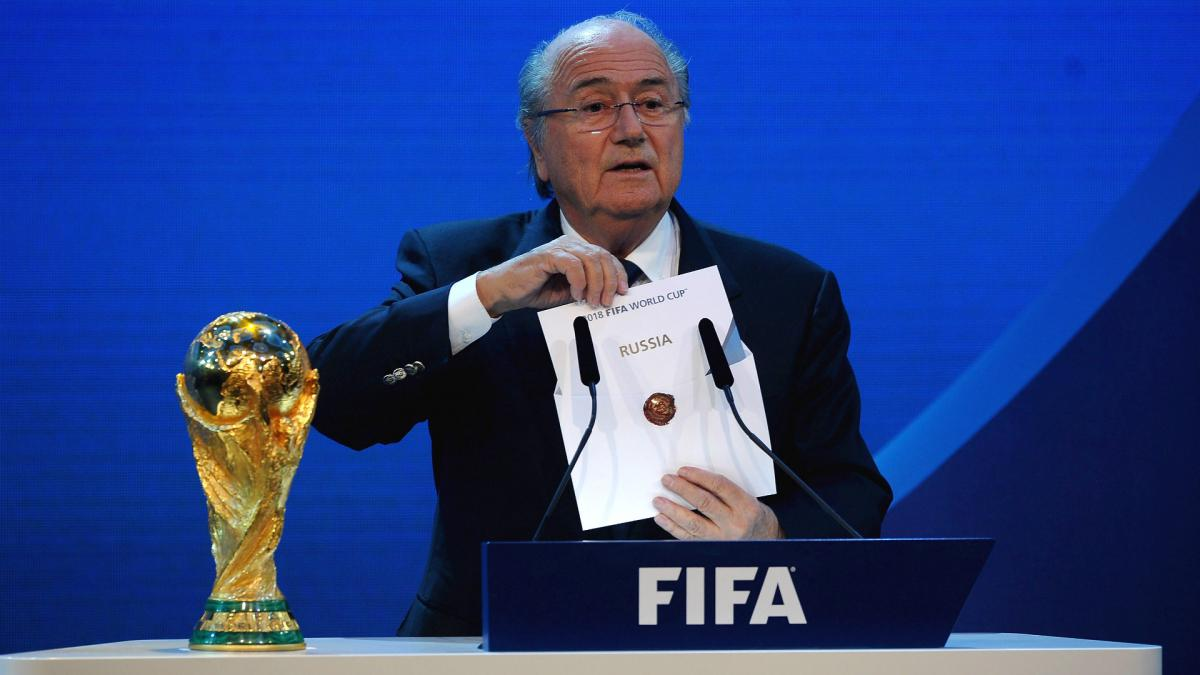 Blatter backs Morocco 2026 World Cup bid