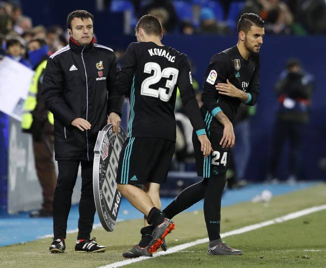Dani Ceballos played for 28 seconds of Madrid's LaLiga victory over Leganés, symbolic of a lack of opportunities for younger members of the squad.