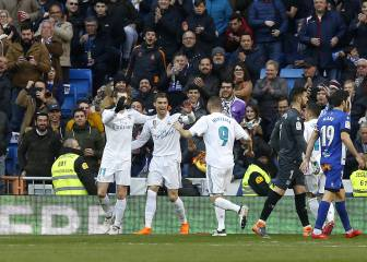Cristiano spurns hat-trick to hand Benzema a break