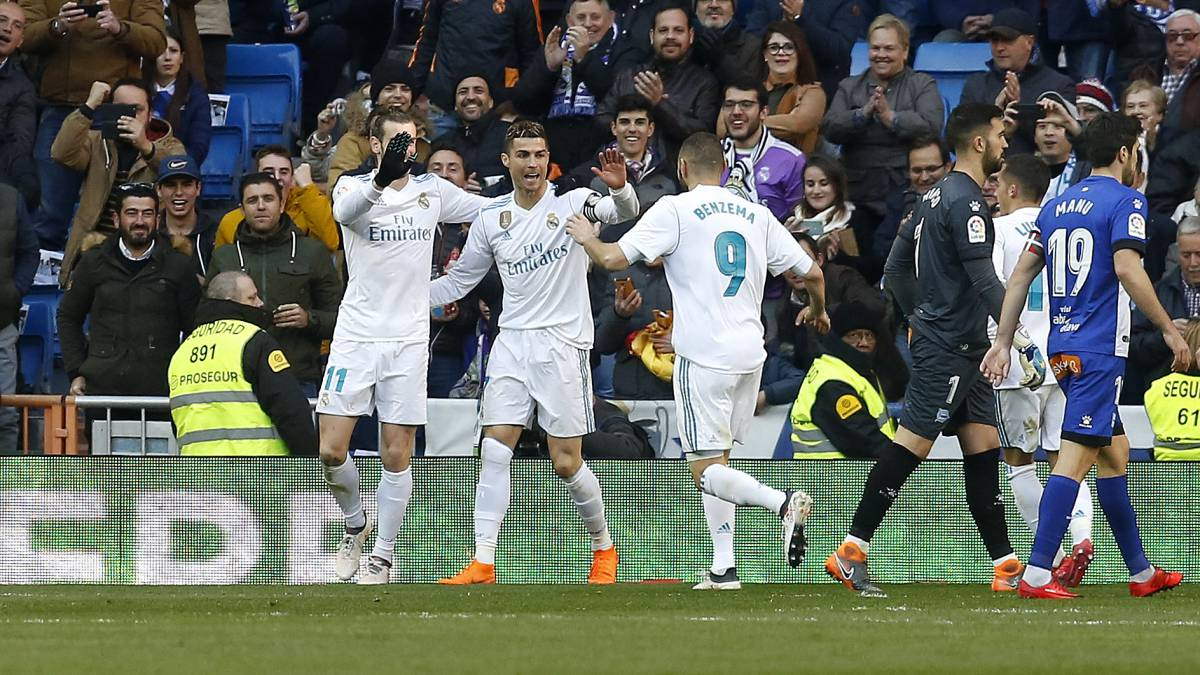 Cristiano spurns hat-trick chance to hand Benzema a break