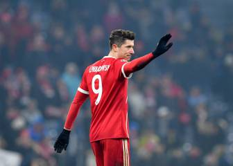 Lewandowski says agent change nothing to do with Madrid