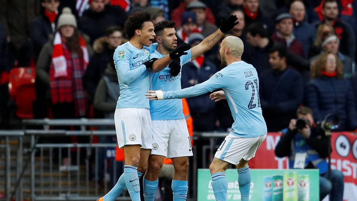 Arsenal 0-3 Manchester City Carabao Cup final 2018: report