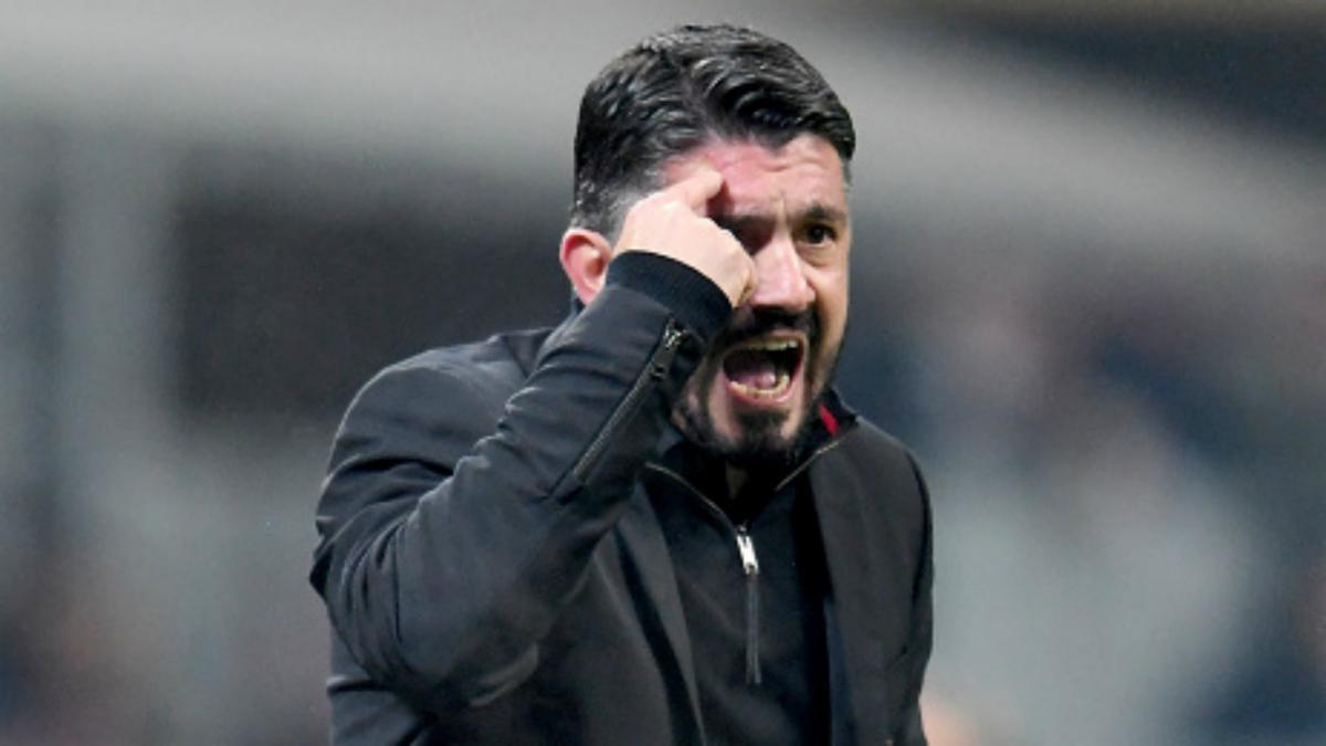 Gattuso: Milan have to put helmets on and go into battle against Arsenal