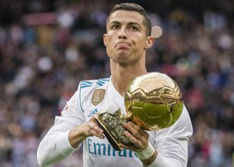 Ronaldo happy with five Ballons d'Or but eyeing record sixth