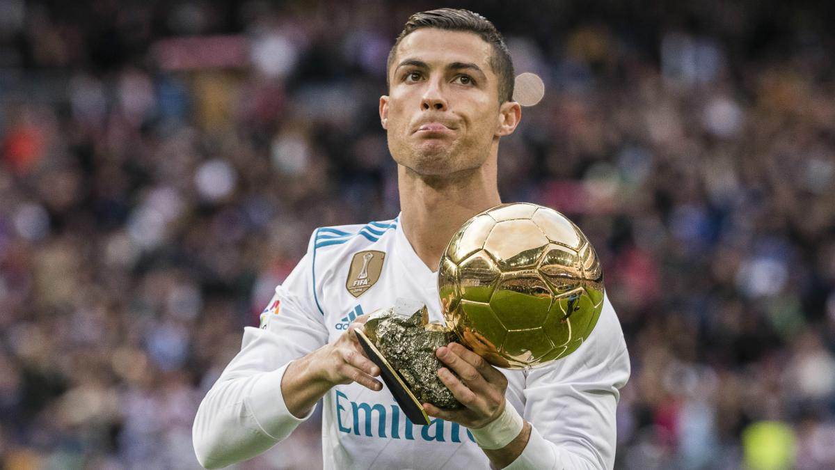 Ronaldo happy with five Ballons d'Or but ready to challenge for record sixth