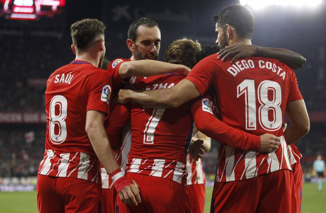 Atlético Madrid have earned the right to believe