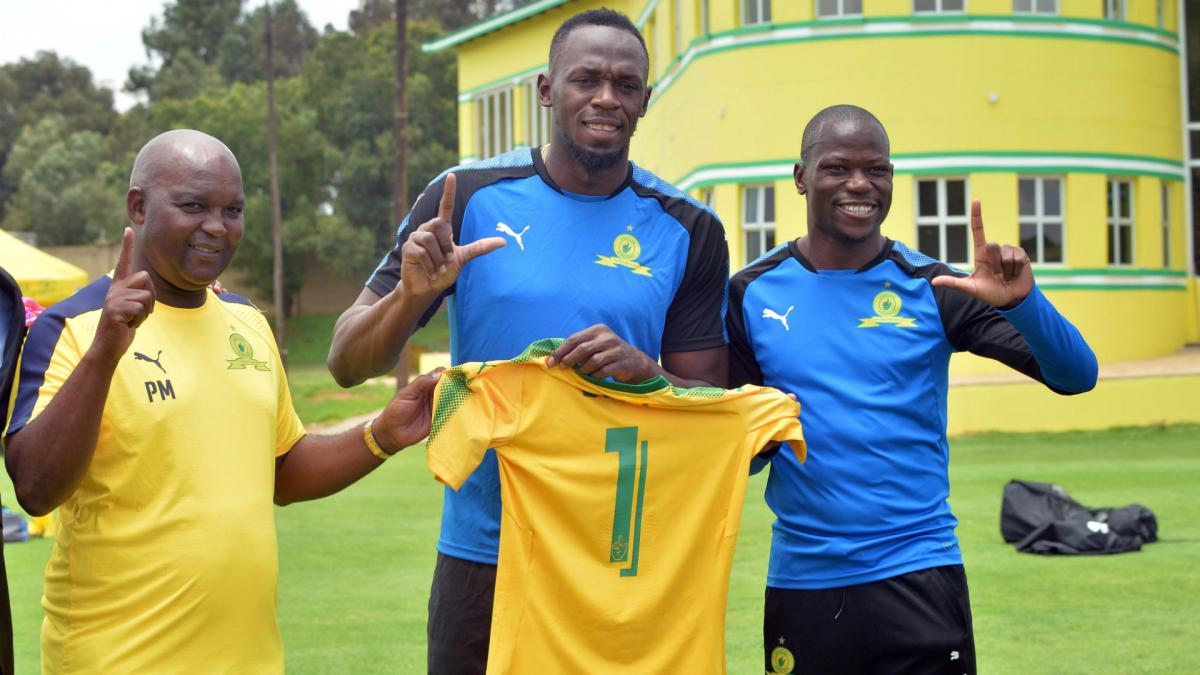 Mamelodi Sundowns hint at Usain Bolt deal