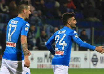 Serie A is in Napoli's hands, says Insigne