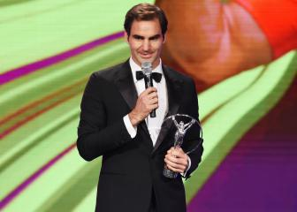 Federer becomes most decorated Laureus winner