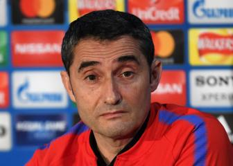 Congested fixture list hurting Barcelona - Valverde