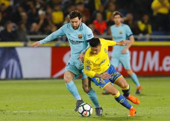 Barca's lead atop LaLiga shrinks further with Las Palmas draw