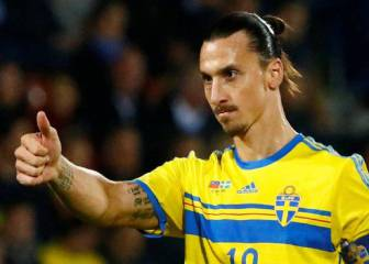 Ibrahimovic hints at Sweden return for World Cup