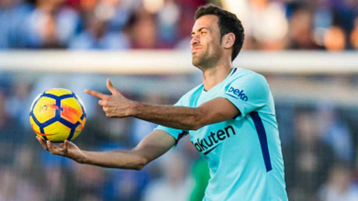 Busquets: Atletico clash will be tougher for Barcelona