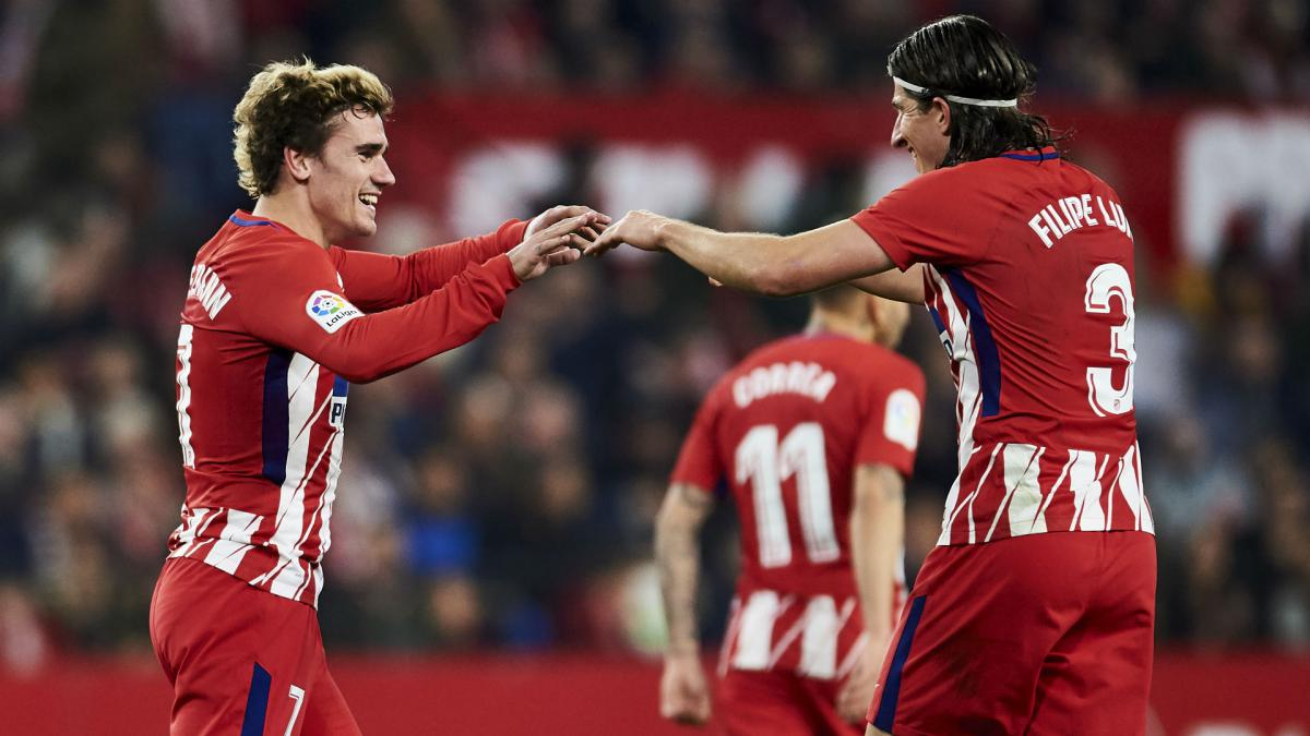 Filipe Luis expects Griezmann to stay