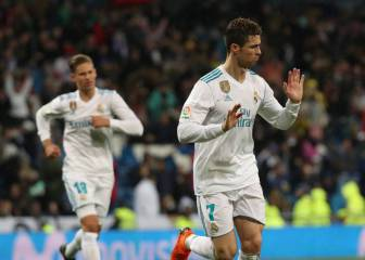 Ronaldo double as Madrid prepare for PSG in ideal fashion