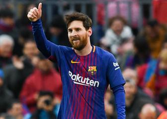Leo Messi reaches 600-goal milestone in Camp Nou