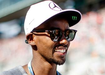 Mo Farah lodges formal complaint while German police deny racial harassment allegations