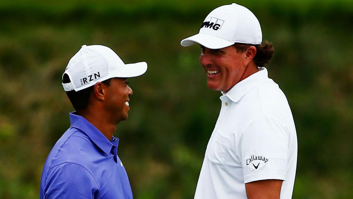 Woods taking inspiration from Mickelson\'s sustained success