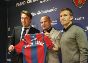 New Levante boss López: