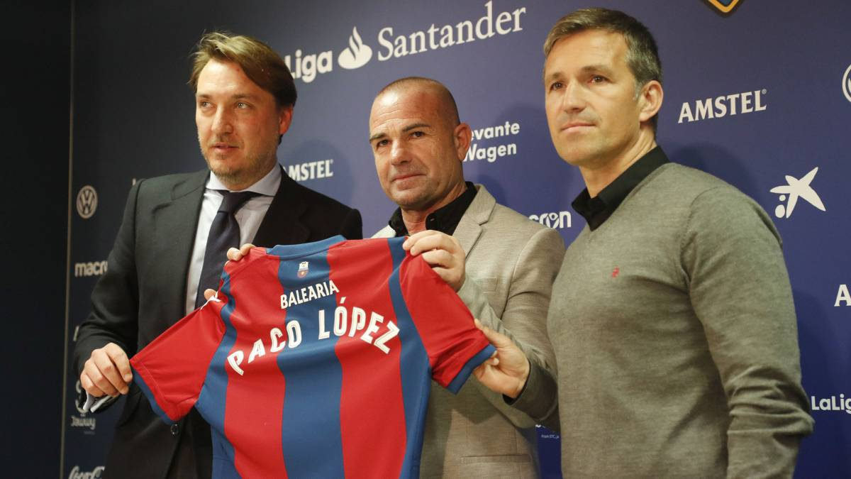 "New Levante boss López: ""We have to win a league of four"""