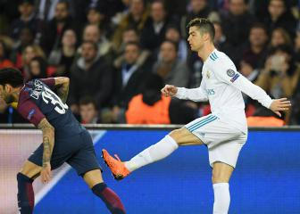 Dani Alves denies wiping his nose on Cristiano Ronaldo