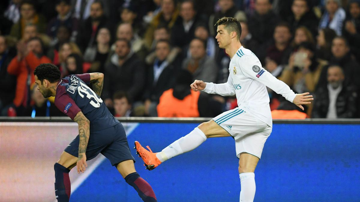 Dani Alves denies wiping nose on Cristiano Ronaldo