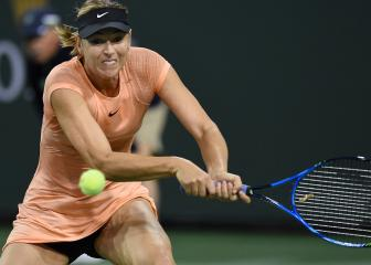 Sharapova stunned at Indian Wells, Bouchard exits