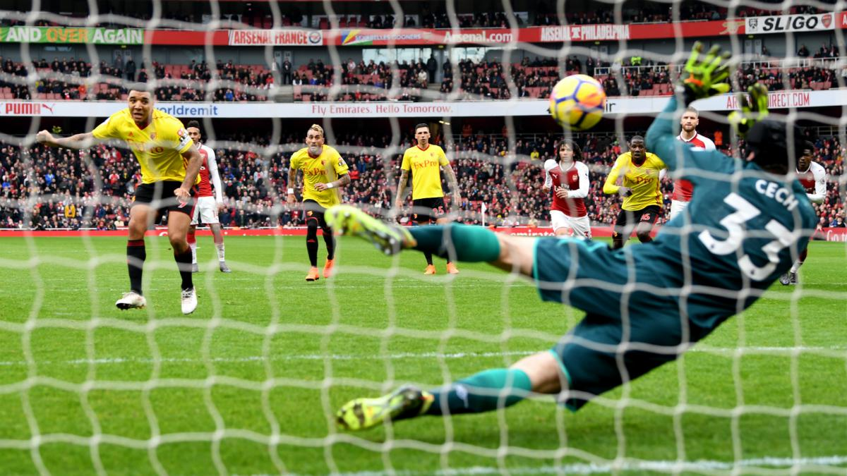 Arsenal 3-0 Watford: Bellerín fires back at Deeney as row continues