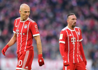 Bayern plan contract talks with Robben and Ribéry