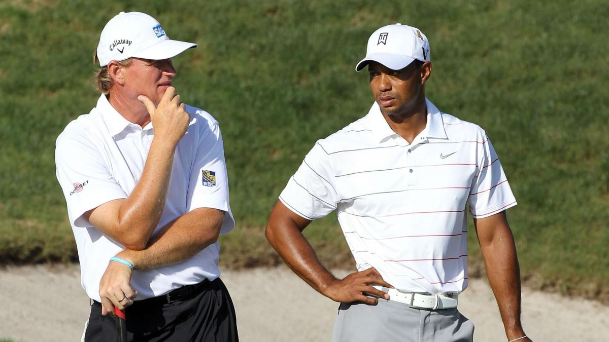 Woods and Els set to be named captains for 2019 Presidents Cup