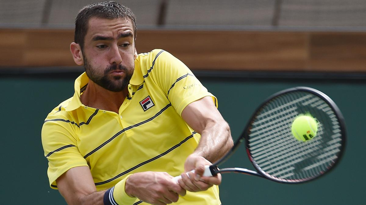 Cilic bows out as Del Potro, Raonic progress