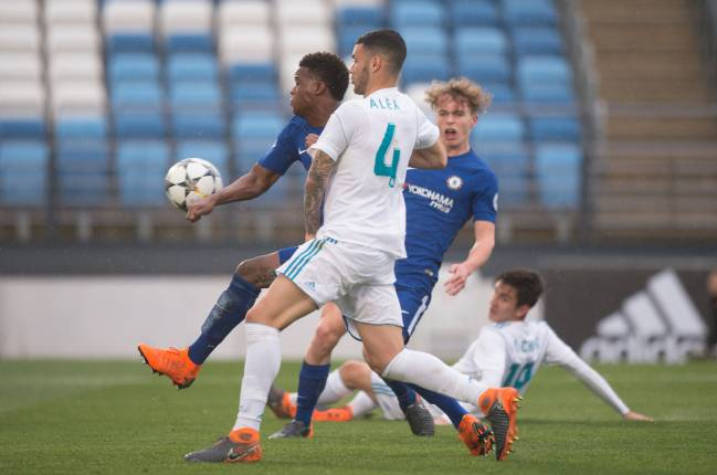 Real Madrid 2-4 Chelsea Youth League