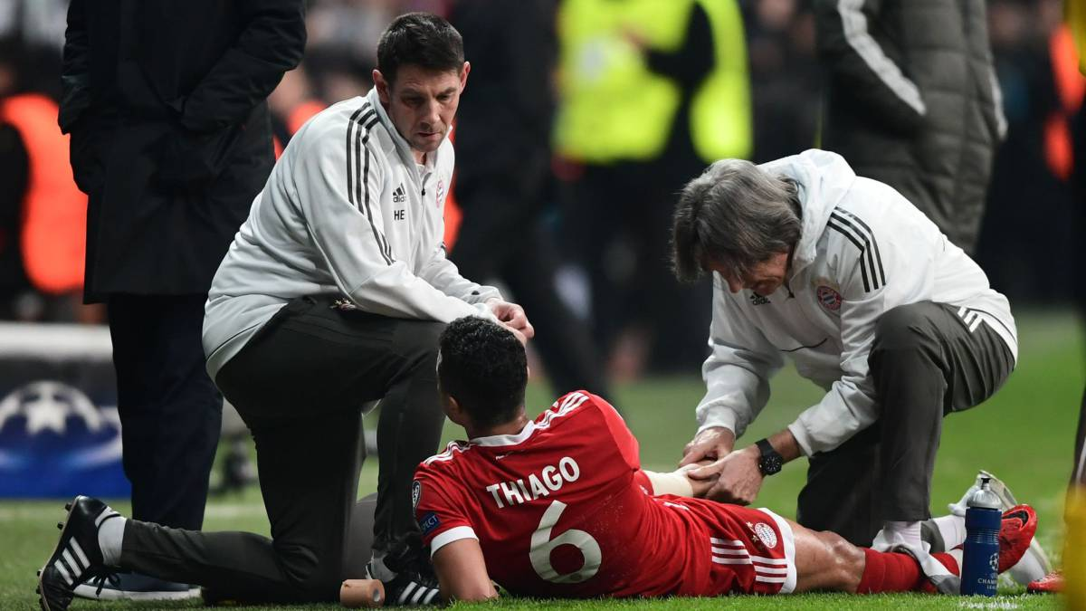 Thiago injury not serious, Heynckes claims