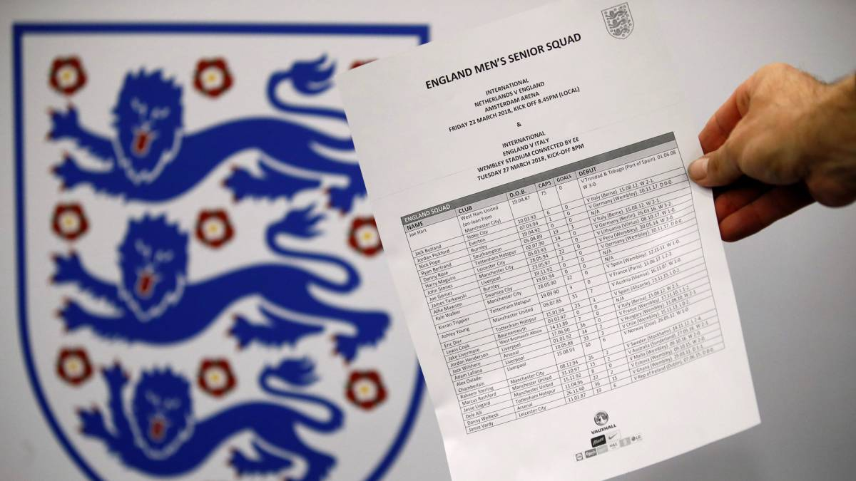 England squad: Wilshere, Pope, Tarkowski in, no Gary Cahill