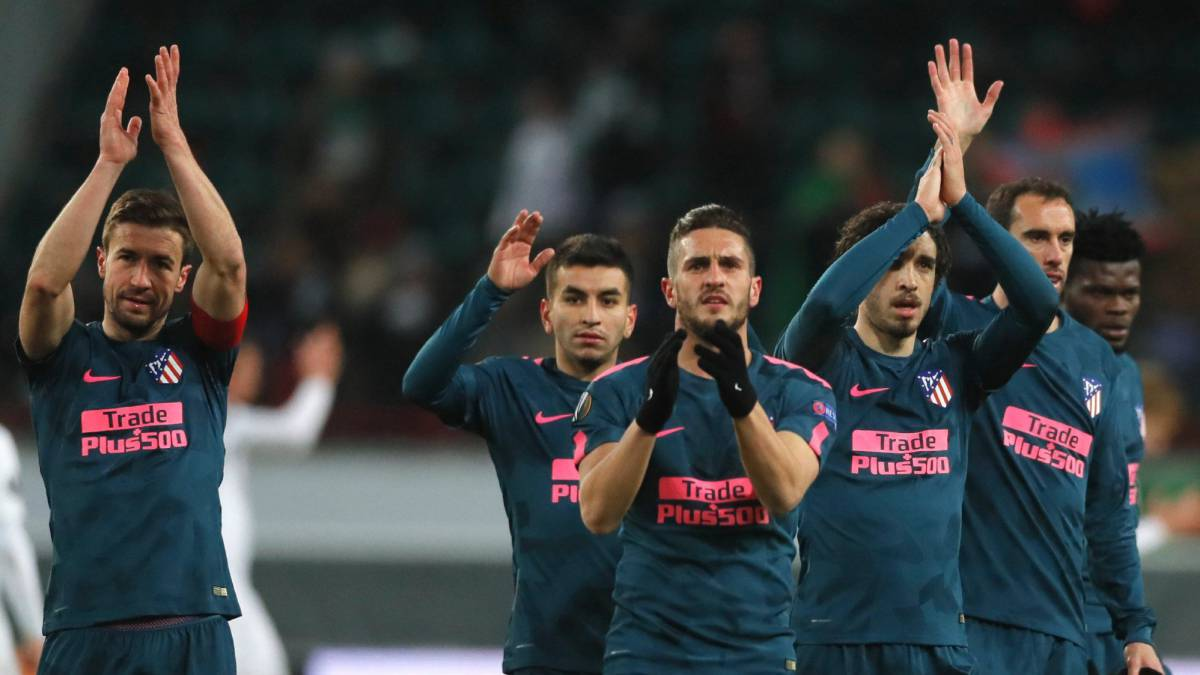 Atlético lead powerful cast into Europa League quarters