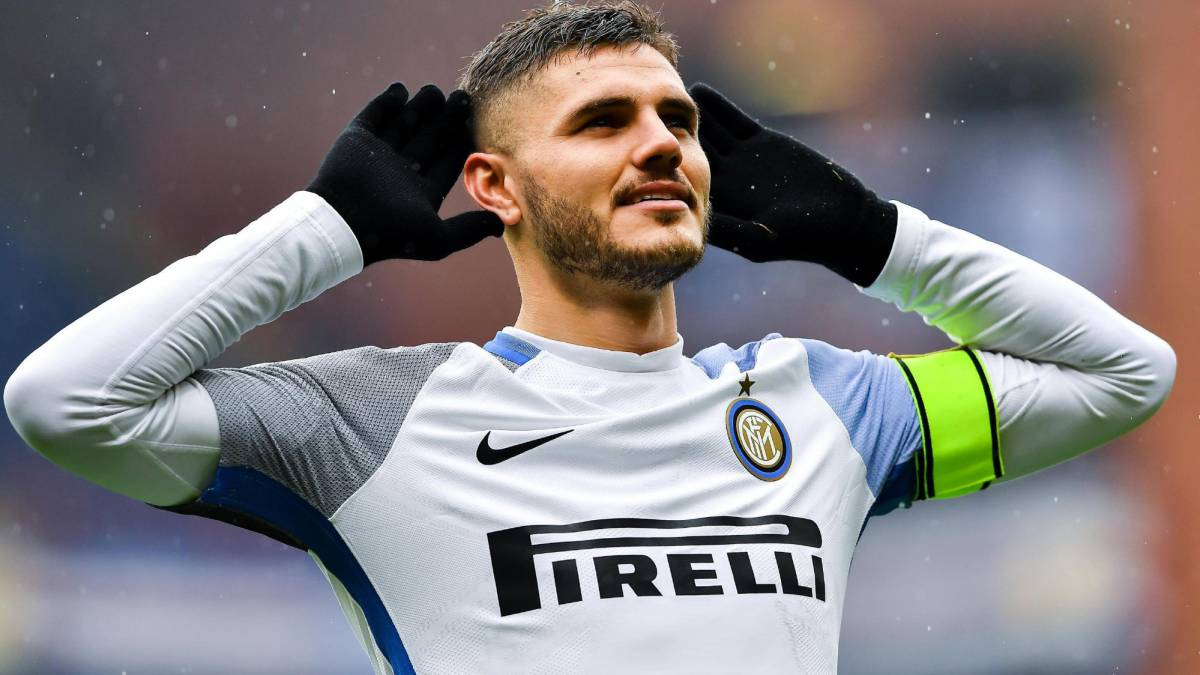 Inter's Icardi reaches 100 Serie A goals at former club Sampdoria