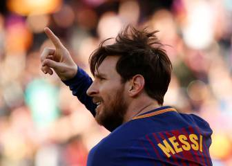 Alcácer and Messi goals give Barcelona easy Athletic win