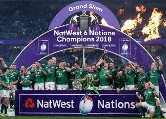 Ireland Grand Slam heroes denied homecoming by weather