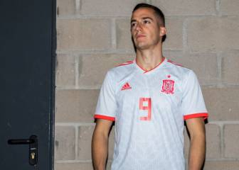 Spain unveil new Russia 2018 World Cup away kit