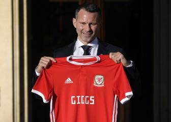 Giggs feeling the tension ahead of Wales debut