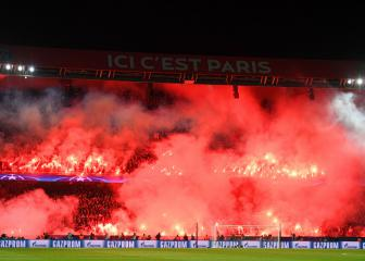 PSG hit with stand closure over incidents against Real Madrid