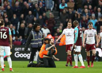 West Ham ban disruptive fans for life after Burnley chaos