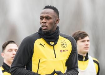 Goals, nutmegs, cheers: Bolt impresses in Dortmund training