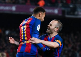 Barça better than Real Madrid even if Neymar signs - Iniesta